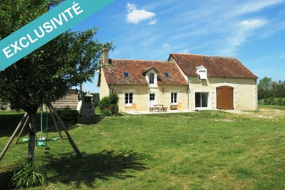Le Grand-Pressigny Indre-et-Loire Haus Bild 3336169
