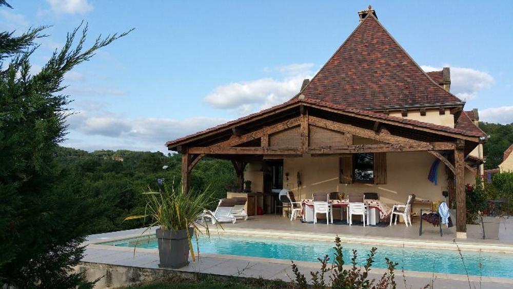Domme Dordogne Haus Bild 3345639