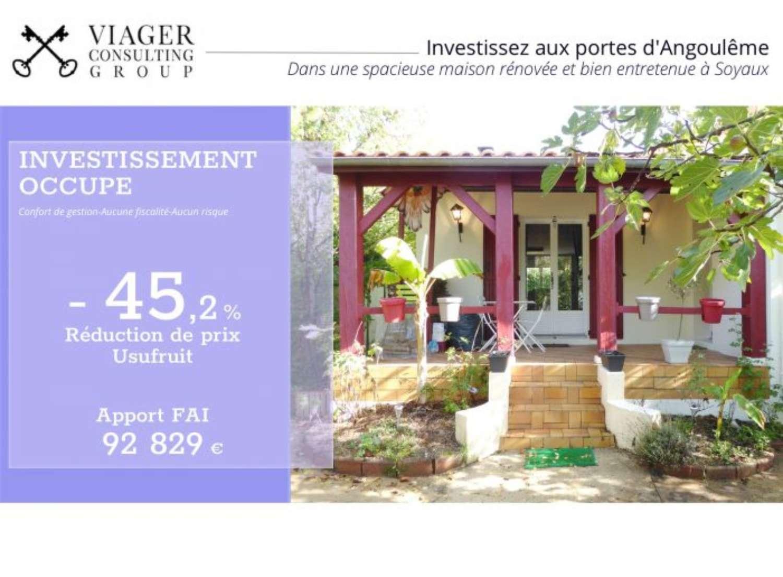 Angoulême Charente Haus Bild 4425388