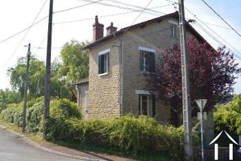 Saint-Honoré-Les-Bains Nièvre dorpshuis foto