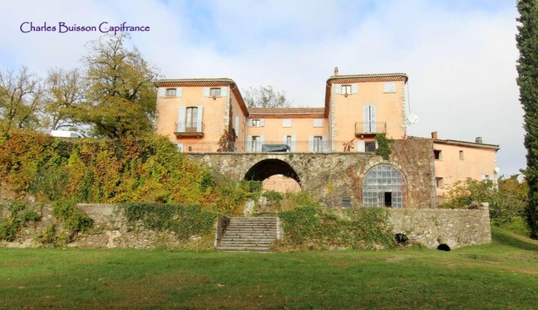 Sisteron Alpes-de-Haute-Provence kasteel foto 4495100