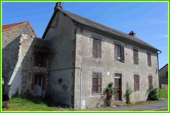 Bénévent-l'Abbaye Creuse maison foto