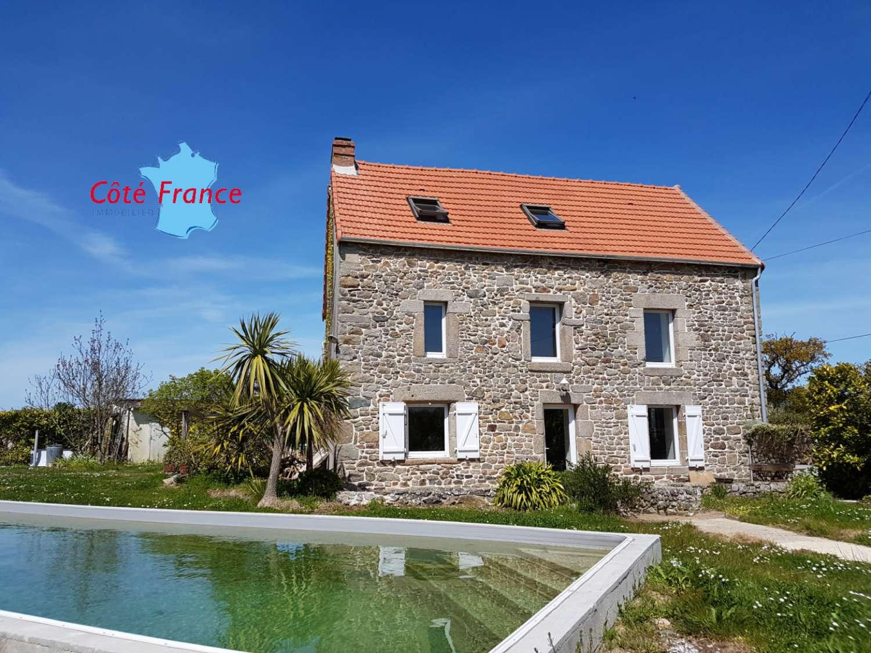 Saint-Vaast-la-Hougue Manche Haus Bild 4543602