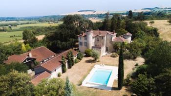 Agen Lot-et-Garonne landgoed foto 4573445