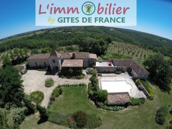 Puy-l'Évêque Lot huis foto 4503105