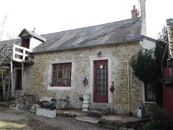Moulins-Engilbert Nièvre vrijstaand foto 4514939