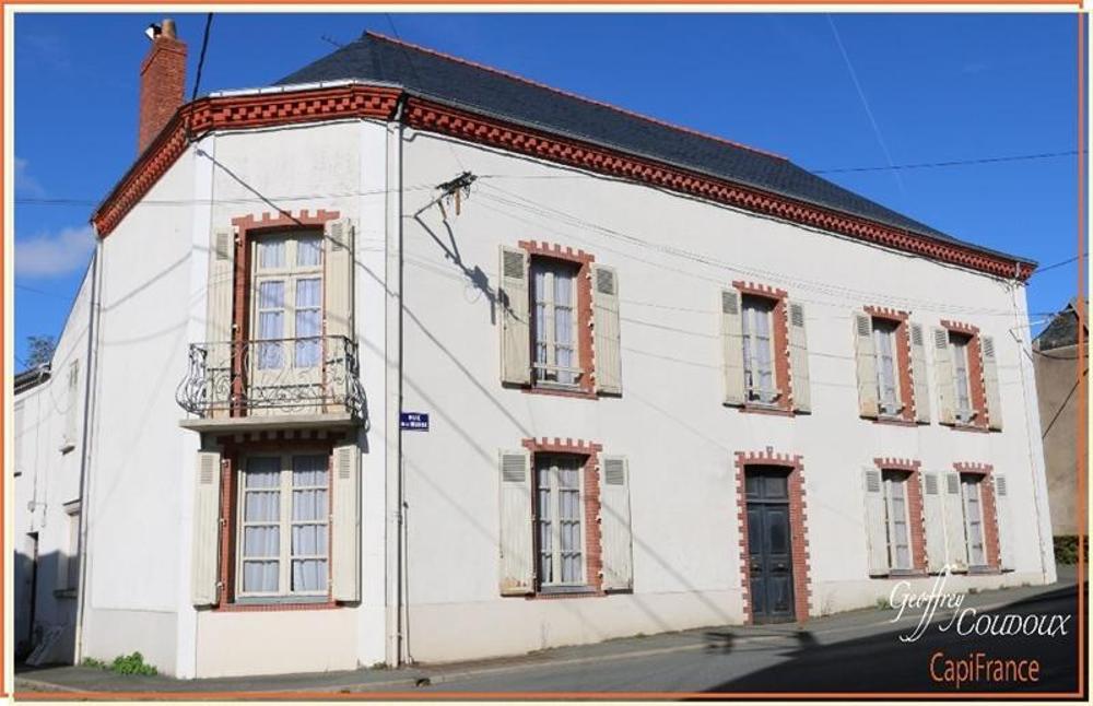 Montrevault Maine-et-Loire maison bourgeoise foto 3511271