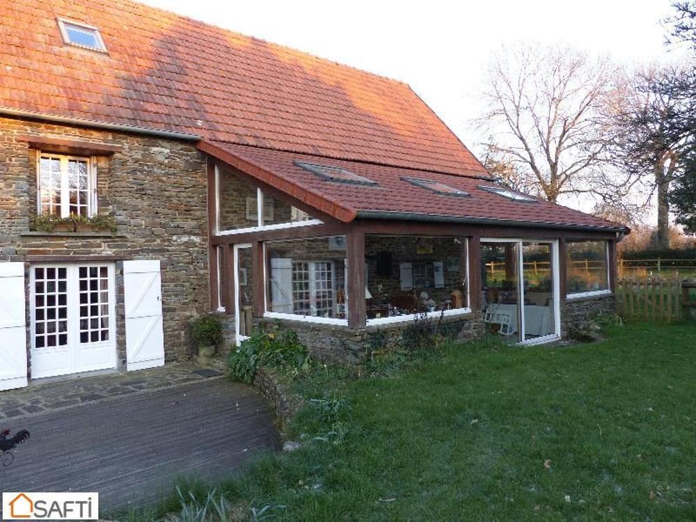 Villedieu-les-Poëles Manche Haus Bild 3463139