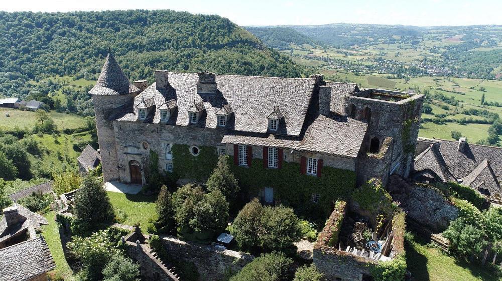 Valady Aveyron landgoed foto 3500688