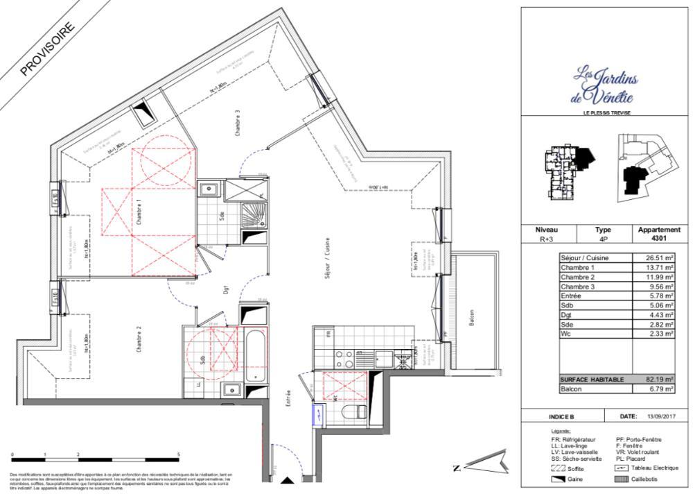 Le Plessis-Trévise Val-de-Marne Apartment Bild 3447708