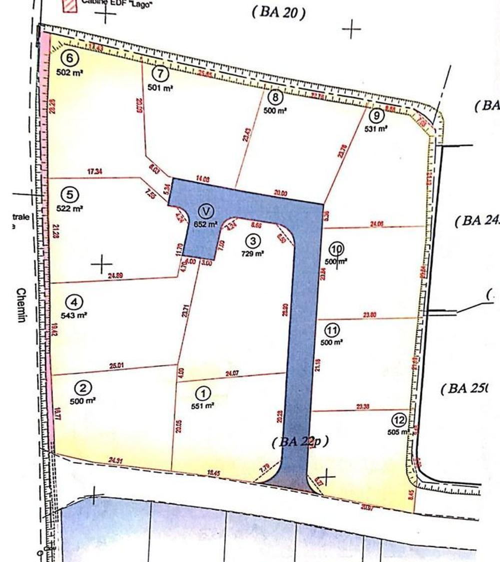 Lucciana Haute-Corse terrain picture 3506487