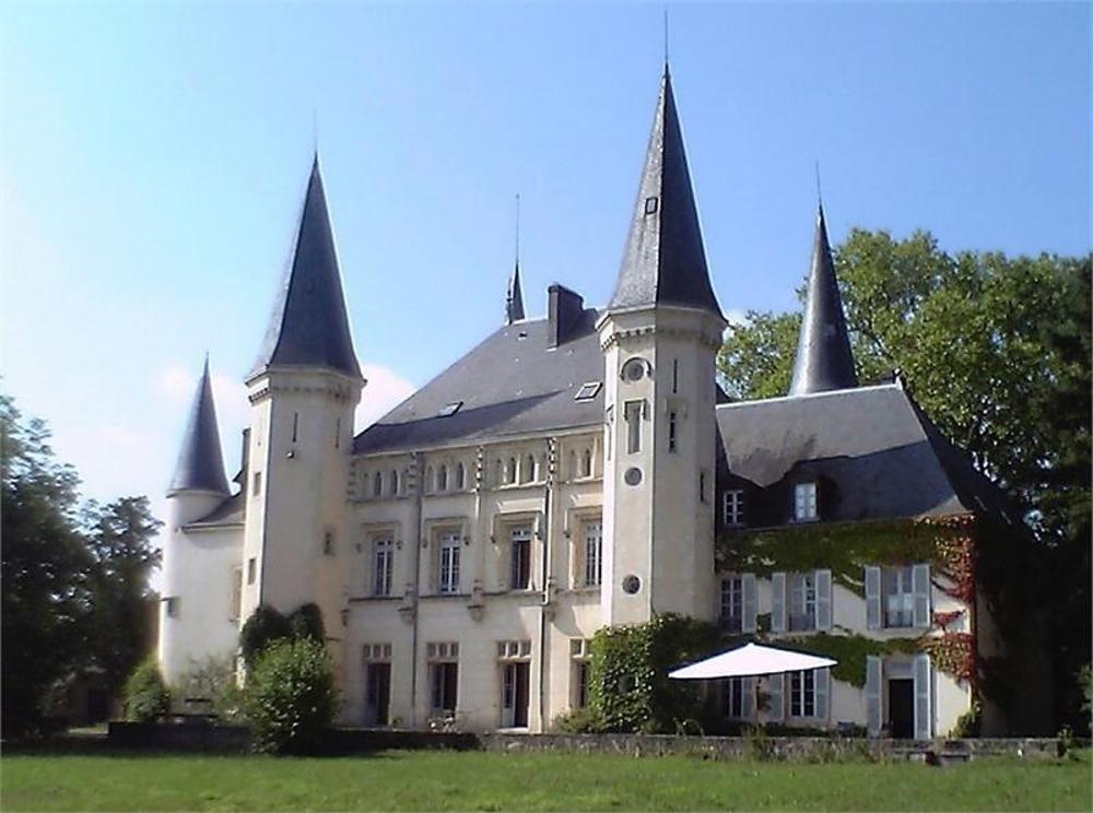 Cuisery Saône-et-Loire kasteel foto 3512872