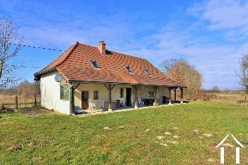Serrigny-en-Bresse Saône-et-Loire ferme foto