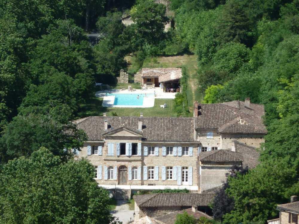 Bruniquel Tarn-et-Garonne kasteel foto 3805137