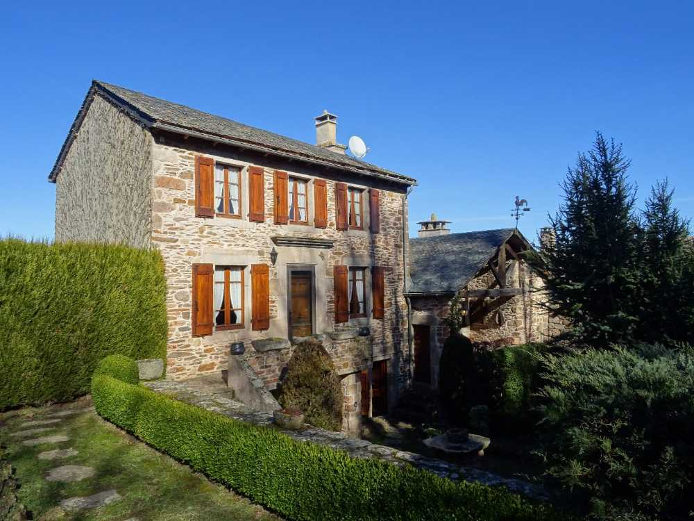 Castelnau-Pégayrols Aveyron dorpshuis foto 3855044