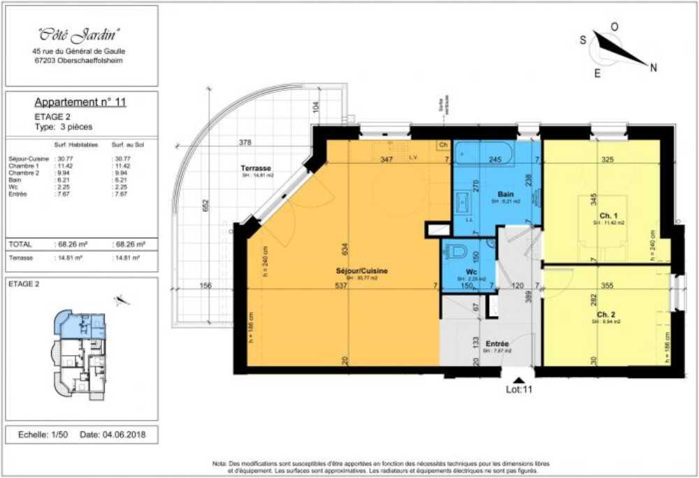Oberschaeffolsheim Bas-Rhin Apartment Bild 3820198