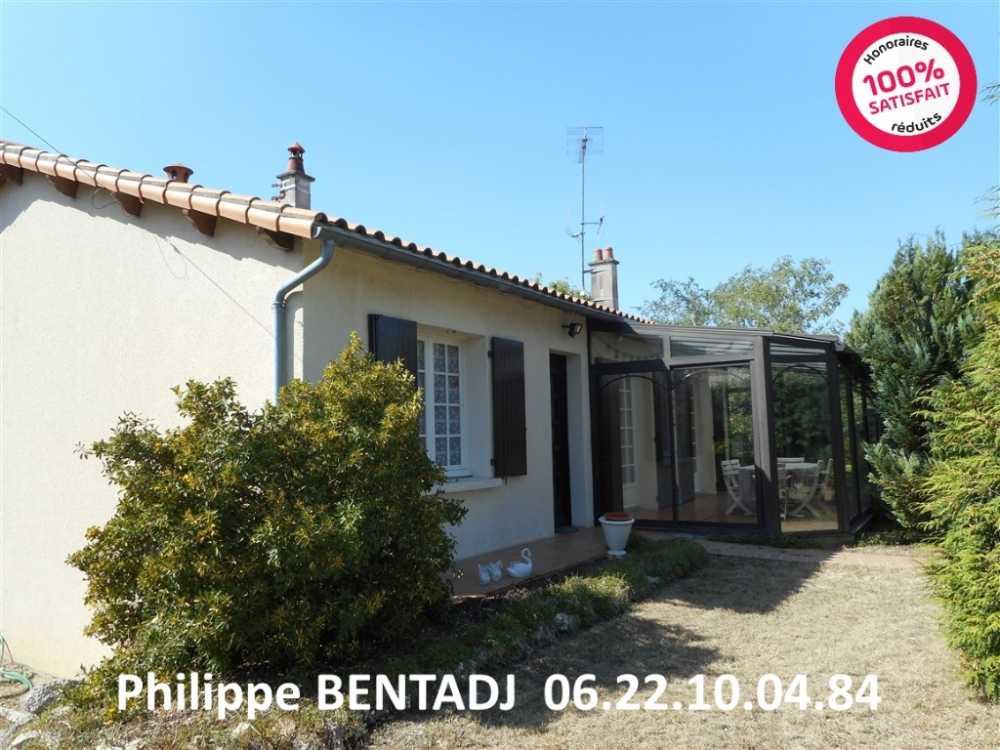 Aigre Charente Haus Bild 3876535
