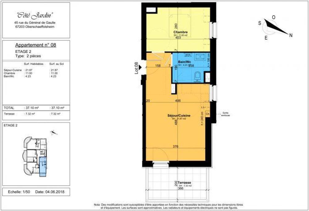 Oberschaeffolsheim Bas-Rhin Apartment Bild 3775220