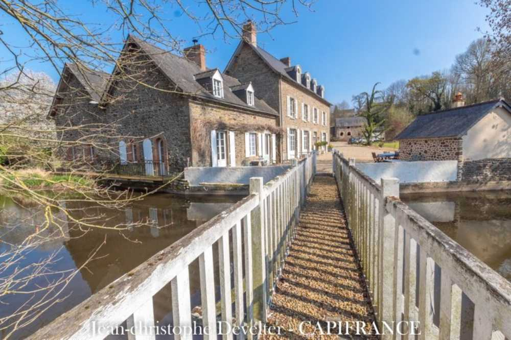 Mayenne Mayenne kasteel foto 3821155