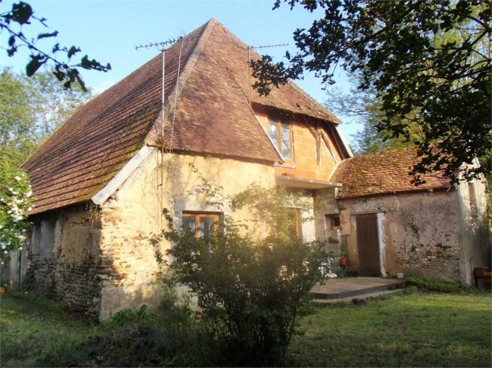 Saint-Amand-en-Puisaye Nièvre Haus Bild 4006918