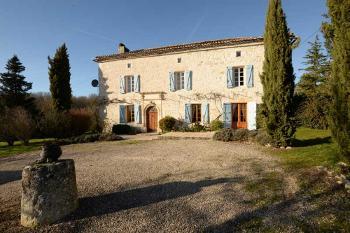 Puy-l'Évêque Lot huis met gîte foto 4043724