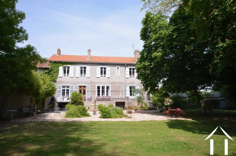 Saint-Léger-sur-Dheune Saône-et-Loire maison bourgeoise foto 4151172