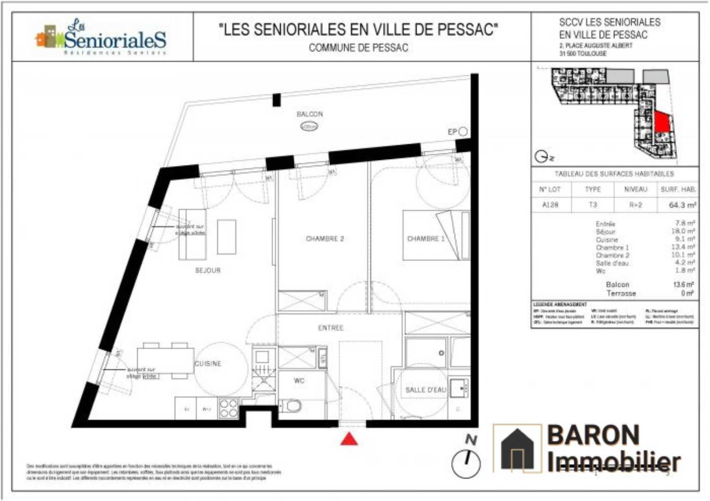 Pessac Gironde appartement foto 4153085
