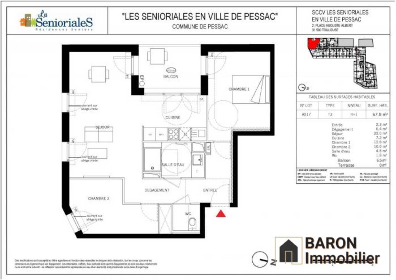 Pessac Gironde appartement foto 4153084