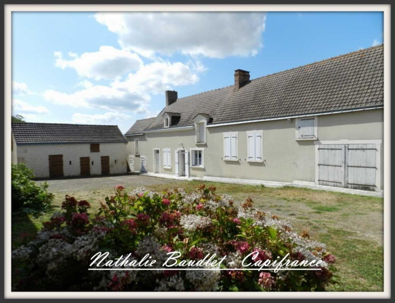 Mayet Sarthe Bauernhof Bild 4248938
