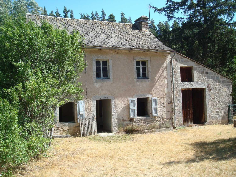 Aumont-Aubrac Lozère huis foto 4258752