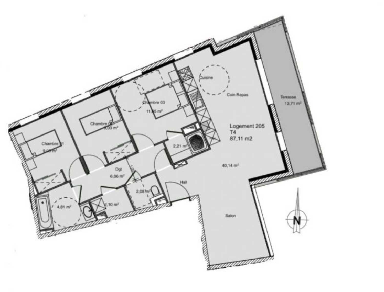 Charbonnières-les-Bains Rhône Apartment Bild 4254761