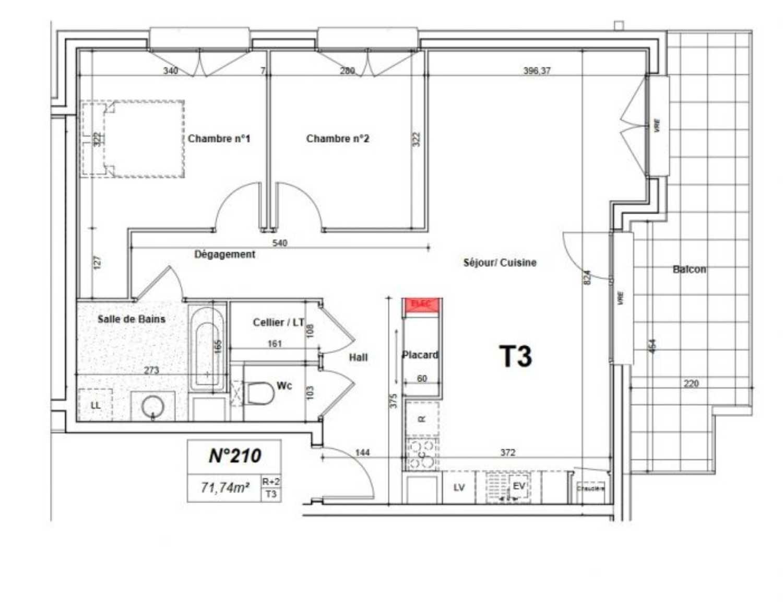 Bonneville Haute-Savoie Apartment Bild 4254623