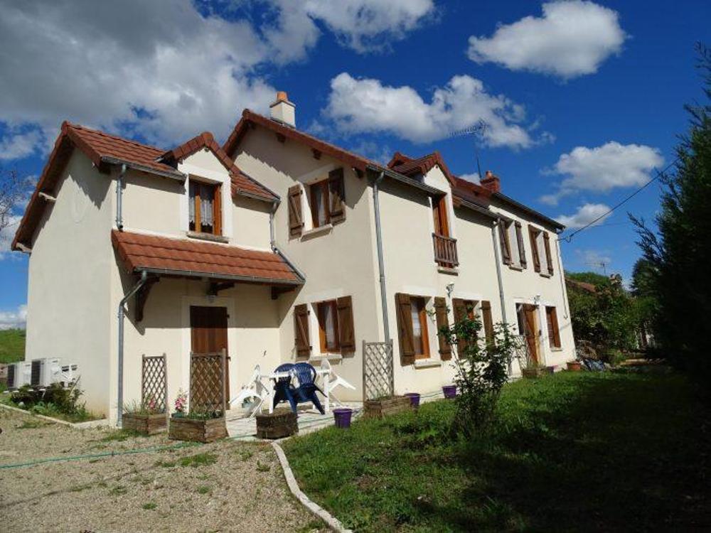Dun-sur-Auron Cher Haus Bild 4256520