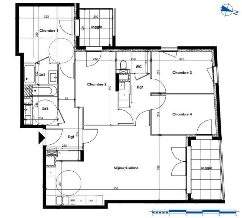 Dardilly Rhône Apartment Bild 4254767