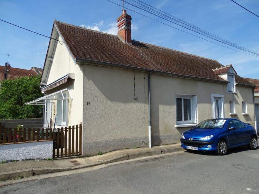 Dun-sur-Auron Cher Haus Bild 4256552