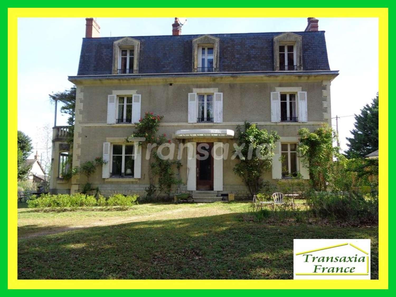 La Guerche-sur-l'Aubois Cher maison bourgeoise foto 4326330