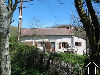 Sémelay Nièvre ferme foto