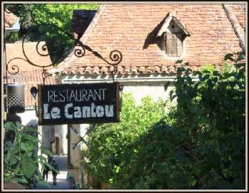 Saint-Cirq-Lapopie Lot restaurant picture 5270408