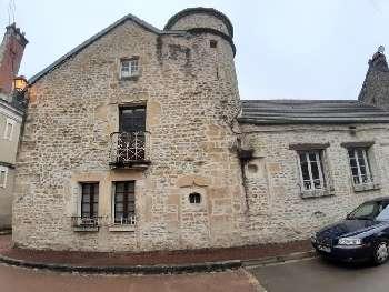 Vézelay Yonne landgoed foto 5360982