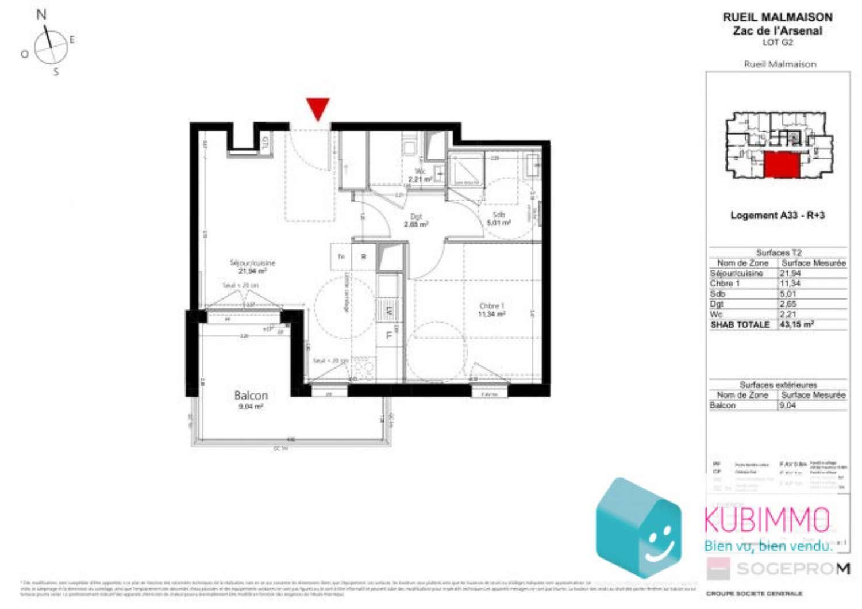 Rueil-Malmaison Hauts-de-Seine appartement foto 4705925
