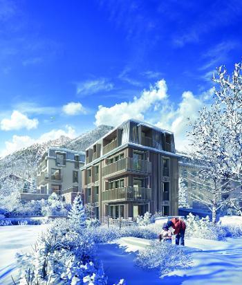 Chamonix-Mont-Blanc Haute-Savoie Haus Bild 4706329