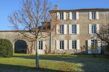 Chassors Charente huis foto 4706624