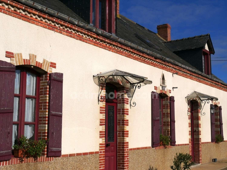 Saint-Denis-d'Anjou Mayenne Bauernhof Bild 4974695